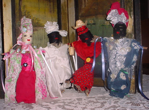 Loa and Orisha Dolls